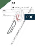FS-C5020 B1 R3 Español