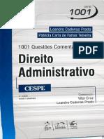 1001 Questões de Direito Administrativo - Leandro Cadenas