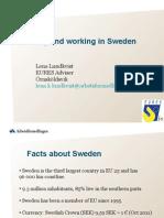 Living & Working in Sweden