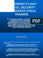 Recurrent TSA Training