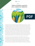Lectura Alumno- Actividad Económica, Minera y Ganadera en Ámerica