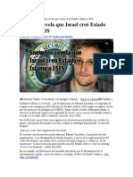 Snowden Revela Que Israel Creó Estado Islámico ISIS