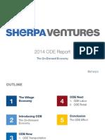 SherpaVentures On-Demand Economy report