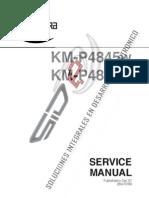 KMP4845WP4850WmServicio