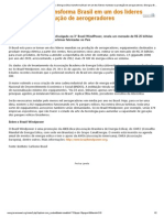 Portal Brasileiro de Energias Renováveis _ Energia Eólica Transforma Brasil Em Um Dos Líderes Mundiais Na Produção de Aerogeradores _ Energia, Brasil, Elica, Dos