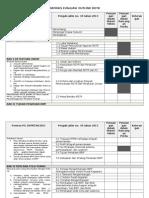 Matriks Outline Evaluasi Rencana Detail Tata Ruang