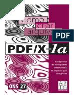 Como Criar Arquivos PDFX-1a