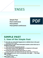 English - The Past Tense