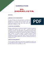 HAMILTON El Federalista (8p)