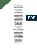 Verdades Amargas - Poema
