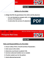 Ph Red Cross First Aid and BLS (Edited)