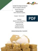 Investigacion de Mercados 30 Jul