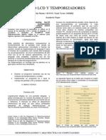 Generador Lector de Señales Pantalla LCD en Lenguaje C