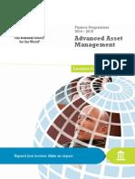 Advanced Asset Management-InSEAD