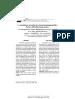 La Naturalización de La Violencia - Una Microsociología Mediática