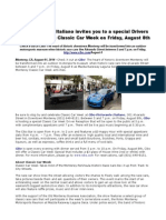 Cibo Ristorante Italiano invites you to a special Drivers Reception during Classic Car Week on Friday, August 8th.pdf