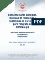 ConsensoEnseñanzaenCariologia ACFF COLOMBIA 2013