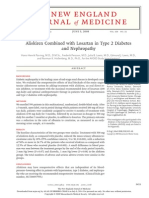 Aliskiren Combined With Losartan in Type 2 Diabetes