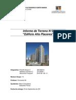 informe construcciones terminaciones