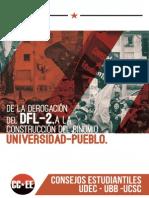 De La Derogación Del DFL-2 a La Construcción Del Binomio Universidad _pueblo