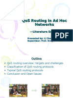 QoS Routing in Ad Hoc Networks