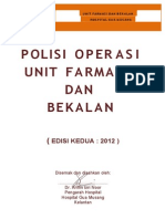 Polisi Operasi Unit Farmasi