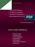 Fundamentals of Photoelasticity