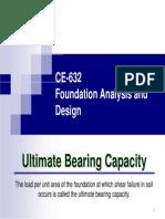 Bearing Capacity