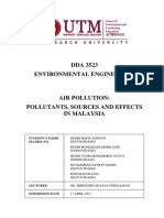 Assignment Environmental Engineering