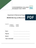 ME2308 Lab