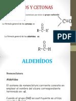 Aldehidos y Cetonas Cristina Sarahi Alarcon Gonzalez