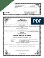 Contoh Surat Undangan Aqiqah-rmh
