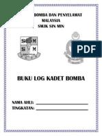 Cover Buku Log Kadet Bomba Dan Penyelamat Malaysia