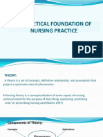 TTheoretical Foundation of Nursing Practice