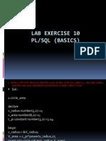 Lab Exercise 10-11-12_PLSQL