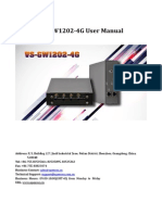 OpenVox VoxStack VS-GW1202-4G User Manual