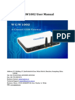 OpenVox WGW1002G User Manual