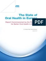 Report - The State of Oral Health in Europe