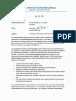 OIG Report on Illegal Alien Detention