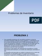 Problemas Inventario