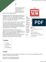 Now (Newspaper) - Wikipedia, The Free Encyclopedia