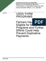 7-14 Subsidies for Farmers