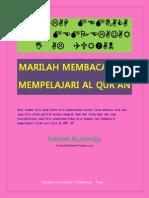 Marilah Membaca Dan Mempelajari Al Qur