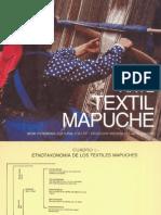 Telar mapuche en Chile