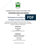 Ahsanullah University of Science and Technology Main Report