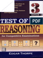 Thorpe's Test of Reasoning Solved E-book(666 Pages) 3rd Edition