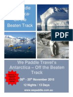 We Paddle Antarctica 2015