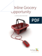 The Online Grocery Opportunity 2012