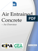 Air Entrained Concrete