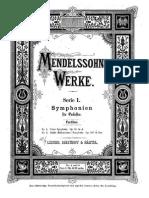 Symphony Nº 4 - Mendelssohn